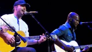 Sam Hunt Performs Little Big Town's Girl Crush