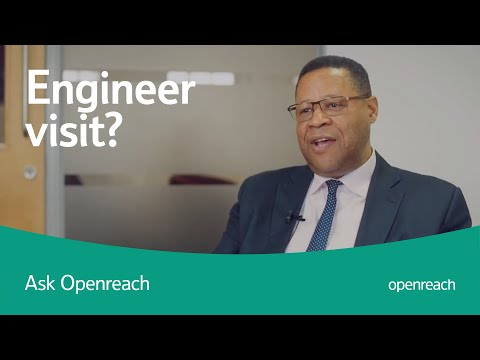 How do I know it's an Openreach engineer?