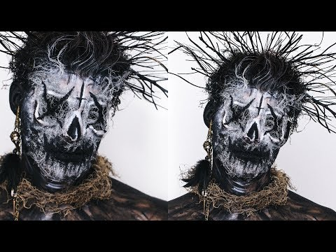 "WITCH DOCTOR OR EL CUCUY"" HALLOWEEN MAKEUP 
