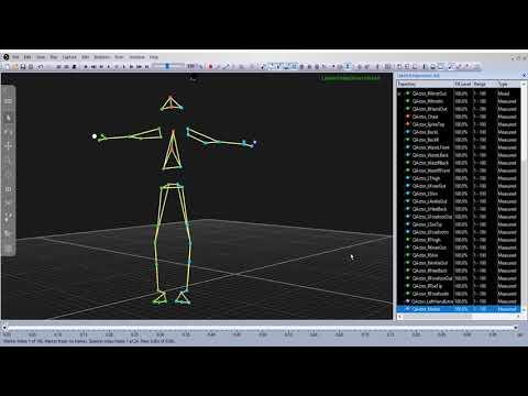 Qualisys Skeleton Solver Tutorial 09 - Adding Extra Markers to Your Skeleton