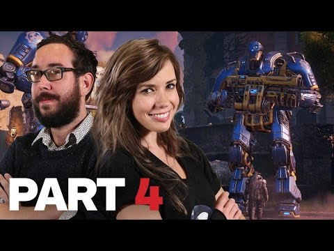 STILL NOT A HORSE! Gears of War 4 Let's Play Highlights #4 - Podcast Unlocked