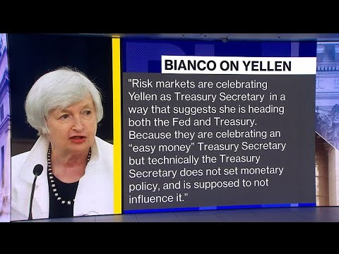 Wall Street Sees 'Easy Money' With Yellen at Treasury: Bianco