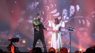 ESCKAZ in Kyiv: Joci Pápai (Hungary) Grand FinalDress rehearsal Origo