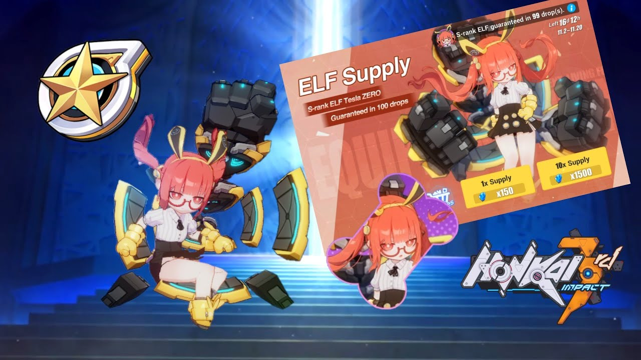 M G - The cheapest maxed ELF yet...? - Honkai Impact 3