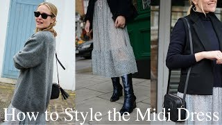 How to Style a Midi Dress with Antonia O'Brien
