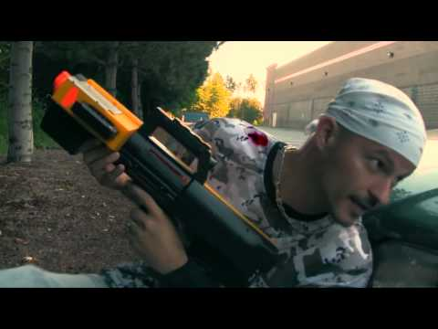 Insane Nerf War: NRF Mortar Battle - NERF Guns