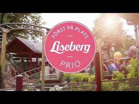 Först på plats med Liseberg Prio