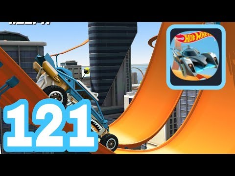HOT WHEELS RACE OFF - Gameplay Walkthrough Part 121 - Level 1 - 5 3 Stars iOS / Android