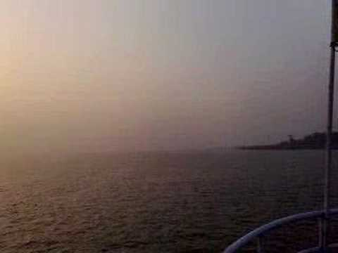 Bay of Bengal Sunrise, from the launch