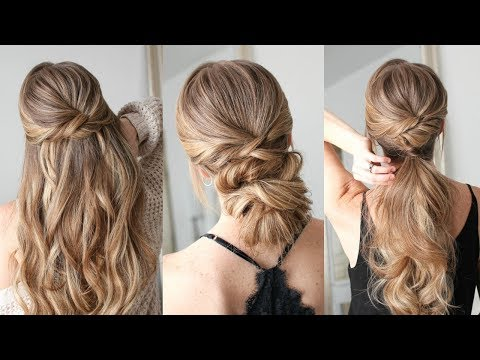 3 Easy Twisted Hairstyles | Missy Sue