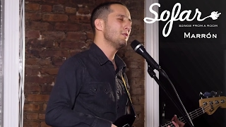 Marron - Nothing's The Same Without You | Sofar NYC