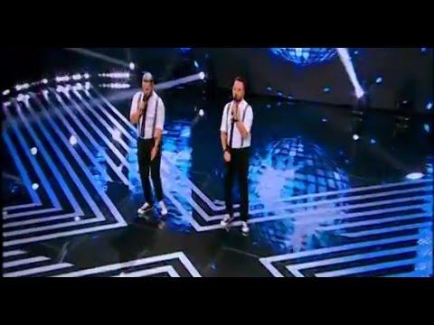 """Mark Ronson ft. Bruno Mars - """"Uptown funk"""". Vezi aici cum cântă Mugurel & Bogdan la X Factor!"""