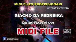 ♬ Midi file  - RIACHO DA PEDREIRA - Quim Barreiros