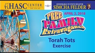 HASC PESACH EVENT - TORAH TOTS - EXERCISE SONG