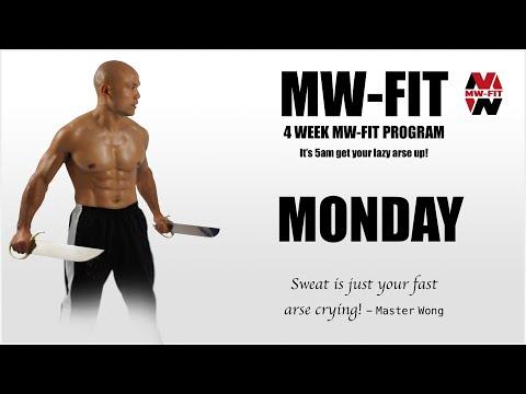 MW Fit Fitness Training Monday   Master Wong