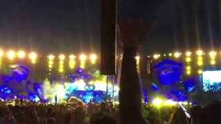 Dash Berlin - remixing Bruno Mars locked out of heaven. EDC Las Vegas 2013 kinetic field main stage