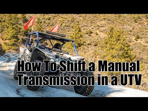 How To Shift a Manual Transmission in a UTV