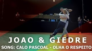 Calo Pascoal - Olha o Respeito   Semba Dance by Joao & Giedre