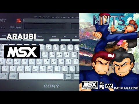 Nuts (Kai Magazine, 1998) MSX2 [444] Walkthrough Comentado
