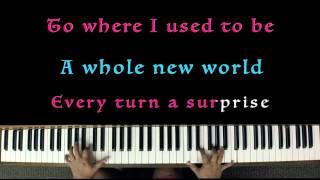 A Whole New World (from Disney's ALADDIN) - Karaoke