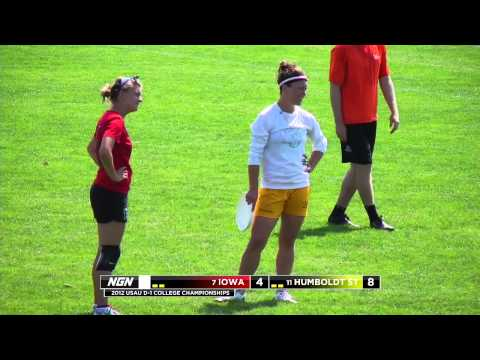 Video Thumbnail: 2012 College Championships, Women's Pool Play: Iowa vs. Humboldt State