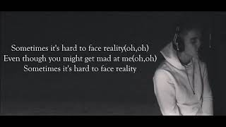 Justin Bieber - Hard To Face Reality (Lyrics Video)