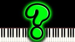 sheet music [....?]