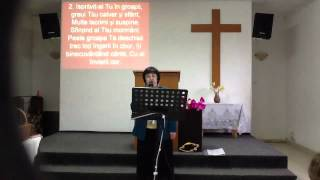 Biserica Harul Hosman. Marina Barac. Soare....Live