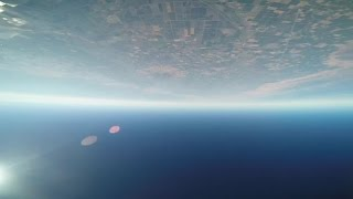 A Terra vista pelos olhos de um 'homem-pássaro' voando a 400 km/h