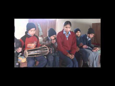 school for blind children parasi nepal.wmv
