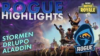 Rogue | Fortnite Highlights #1 - Stormen, DrLupo, and more!