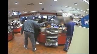 QuikTrip Robbery April 16, 2017 - Warning: Explicit Language
