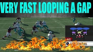DOLLAR 326 CROSSFIRE A GAP AND EDGE HEAT!!! VERY FAST BLITZ | MADDEN 18 TIPS AND TRICKS