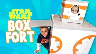 DIY Star Wars Box Fort!!! + Star Wars: the Last Jedi Crafts & Toys by KIDCITY