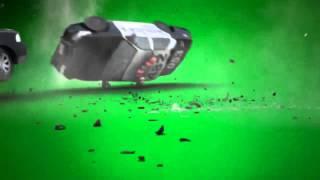 Green Screen - Car Crash