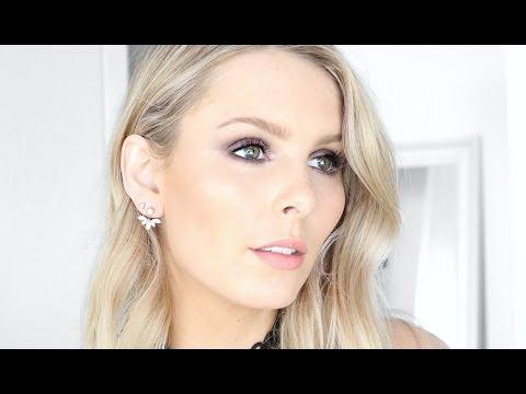CRUELTY FREE PLUM SMOKEY EYE MAKEUP TUTORIAL | RACHAEL BROOK