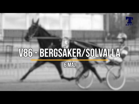 Travtips V86 Solvalla/Bergsåker 6 maj-20