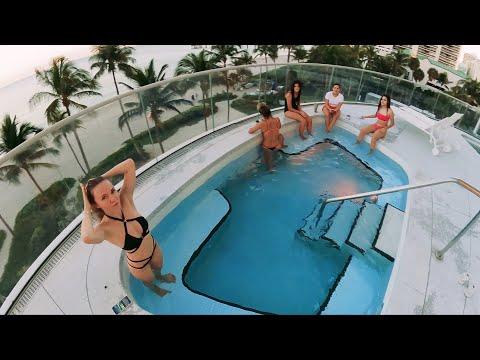 Зачем Мужики Уезжают на Охоту и Рыбалку. В Майами Выбрасывают Деньги с Балкона. Девочки в Джакузи