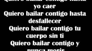 Quiero bailar contigo~Letra~Panteon Rococo