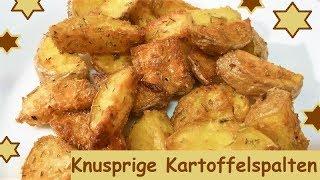Blitzrezept: Knusprige Knoblauch-Kartoffelspalten, in 5 Minuten bereit für den Ofen!