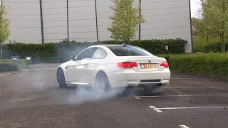 BMW M3 E92 w/ M-Performance Exhaust Making Donuts!
