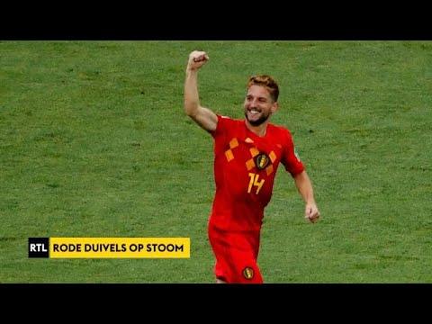 RTL Sport Update: 'Rode Duivels winnen met 3-0 van Panama'