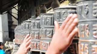 Om Mani Padme Hum - Kathmandu - Monkey Temple