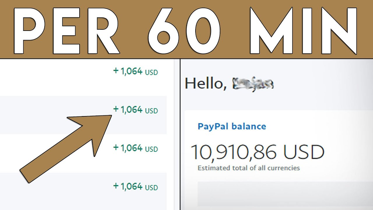 Earn ,064.00 In 1 HOUR For FREE! (Make Money Online Fast)