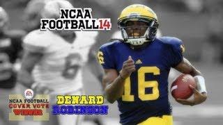 NCAA Football 14: Cover Vote Winner: Denard Robinson NCAA Football 13 - Highlights