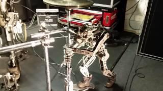 Compressorhead.rocks - Stickboy junior hi-hat berlin session today