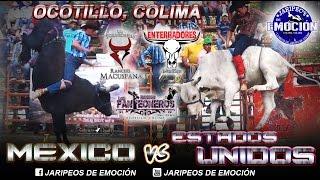 [MÉXICO VS ESTADOS UNIDOS] Los Formidables, Enterradores y Panteoneros en Ocotillo, Colima