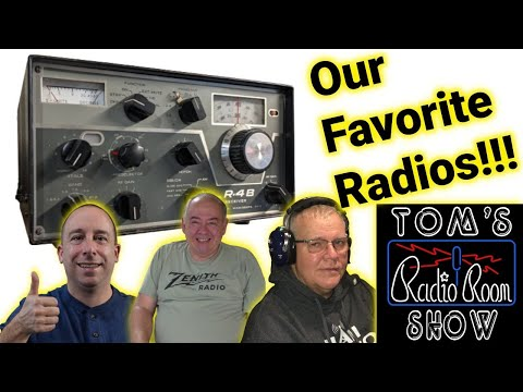 Radio Round Table - Our Favorite Radios Old and New