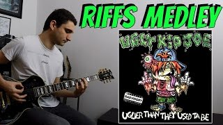 """Ugly Kid Joe RIFFS MEDLEY from """"Uglier than they used ta be"""" COVER"""