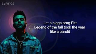 Starboy - The Weeknd (lyrics)